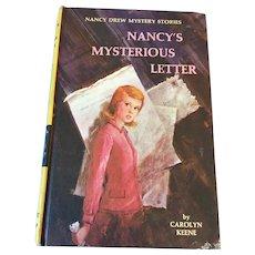 1968 Nancy Drew Volume Eight 'Nancy's Mysterious Letter'