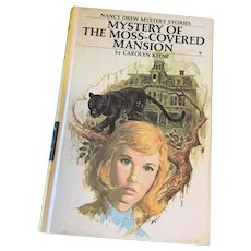 1971 Nancy Drew Volume Eighteen 'Mystery of the Moss-Covered Mansion'