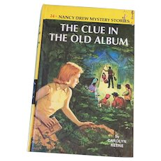 1972 Nancy Drew Volume Twenty-Four 'The Clue in the Old Album'