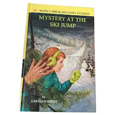 1968 Nancy Drew Volume Twenty-Nine 'Mystery of the Ski Jump'