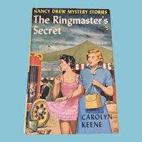 1953 Nancy Drew Volume Thirty-One 'The Ringmaster's Secret'