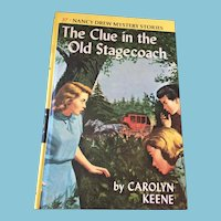1960 Nancy Drew Volume Thirty-Seven 'The Clue in the Old Stage Coach'