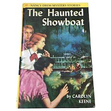1957 Nancy Drew Volume Thirty-Seven 'The Haunted Showboat'