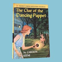 1962 Nancy Drew Volume Thirty-Nine 'The Clue of the Dancing Puppet'