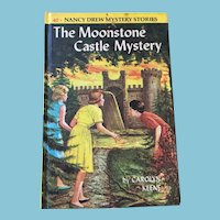 1963 Nancy Drew Volume Forty 'The Moonstone Castle Mystery'