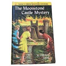 1963 Nancy Drew Volume Forty 'The Moonstone Castle Mystery'