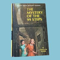 1966 Nancy Drew Volume Forty-Three 'The Mystery of the 99 Steps'
