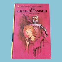 1971 Nancy Drew Volume Forty-Eight 'The Crooked Banister'