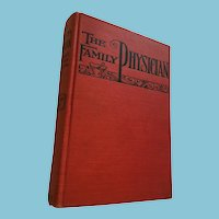 1889 'The family physician: Every man his own doctor' Hardcover Book