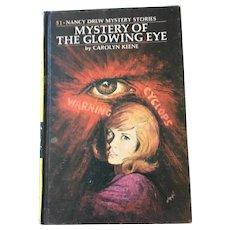 1974 Nancy Drew Volume Fifty-One 'Mystery of the Glowing Eye'