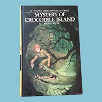 1978 Nancy Drew Volume Fifty-Five 'The Mystery of Crocodile island'
