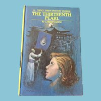 1979 Nancy Drew Volume Fifty-Six 'The Thirteenth Pearl'