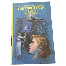 1979 Nancy Drew Volume Fifty-Six 'The Thirteenth Pearl' (2)
