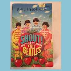 1982 'Shout! The True Story of the Beatles' Soft Covered Book