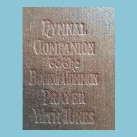 1905 'The Hymnal Companion to the Book of Common Prayer' Hard Cover Book
