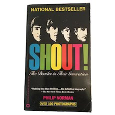 1981 'Shout! The Beatles in Their Generation' (First Edition)Soft Covered Bestseller