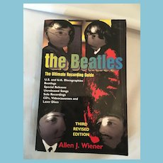 'The Beatles: The Ultimate Recording Guide' Soft Covered Book