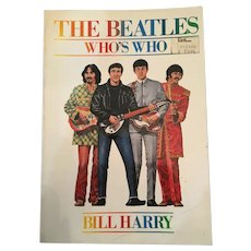 'The Beatles: Who's Who' (First Edition) Soft Covered Book