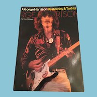 1977 'George Harrison Yesterday & Today' (First Edition) Softcover Book