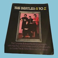 """1980 'The Beatles A to Z' (First Edition) """"The Complete Illustrated Beatle Encyclopedia"""