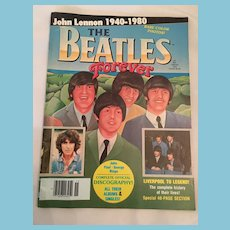 1980 'The Beatles Forever' Magazine with Beatles History Special Section