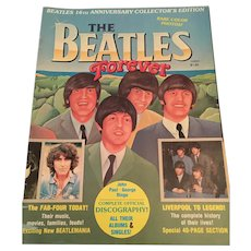 1978 Beatles 16th Anniversary Collector's Edition 'The Beatles Forever' Magazine