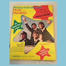 1976 Beatles Collector's Issue in Music Favorites Magazine