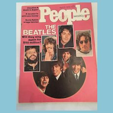 April 1976 People Magazine Featuring 'The Beatles'