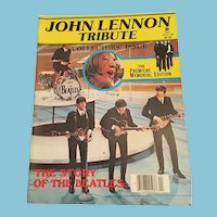 1980 'John Lennon Tribute'  Premier Memorial Edition Magazine