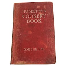 1908 'Mrs. Beeton's Cookery Book - A Household Guide'