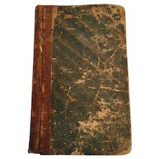 1865 '...United Brethren in Christ' Hardcover Pocket Book