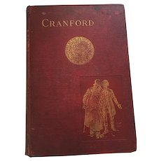 1906 Hard Cover Prize Book 'Cranford' by Mrs. Gaskell
