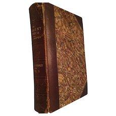 1890 'In Darkest Africa' first edition book by  Henry M STANLEY