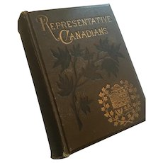 1888 Rose's 'Cyclopædia of Canadian Biography: Being Chiefly Men of the Time'