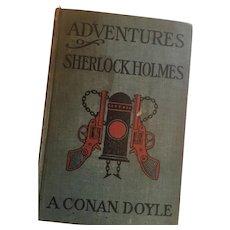 Circa 1914  'Adventures Of Sherlock Holmes' by Arthur Conan A.L. Burt Publishers