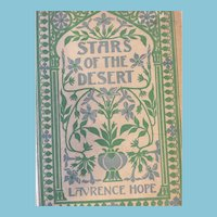 1905  'Stars of the Desert' Hard Cover Book