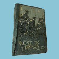 1886 'Lost in the Wilds', (La Belle Sauvage) by Edward S. Ellis, Cassell and Company