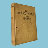 1912 First Edition 'The Harvester' by Gene Stratton-Porter