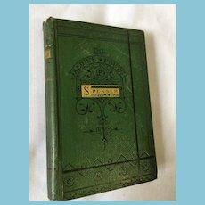 Circa (1866) Aldene Poets 'The Faerie Queene'  by Edmond Spencer
