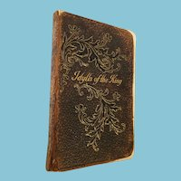 1885 'Idylls of the King' by Alfred Lord Tennyson, Thoms Y. Crowell Publishing