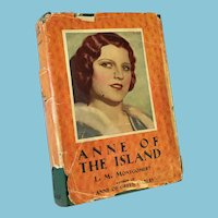 1938 'Anne of the Island' Hard Cover Book by Lucy Maud Montgomery