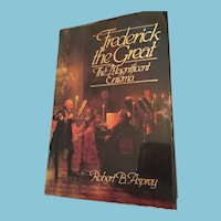 """1986 1st Edition 'Frederick the Great - The Magnificent Enigma"""" Hardcover Book"""