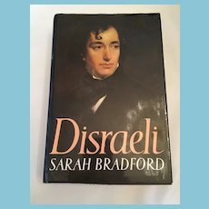 1983 First American Edition 'Disraeli' Hardcover Illustrated Book