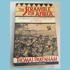 First Edition 1991 'The Scramble for Africa...1876 to 1912' Hardcover Book