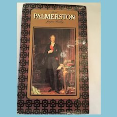 1970 'Lord Palmerston' Hardcover Book with Dust Jacket