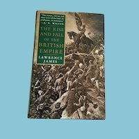 1996 U.S. First Edition 'Rise and Fall of the British Empire' with Dust Jacket
