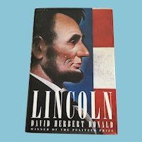 1995 First Edition 'Lincoln' Hardcover Book with Dust Jacket
