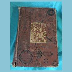 1897 'The Practical Home Physician - Encyclopedia of Medicine' Hardcover Book