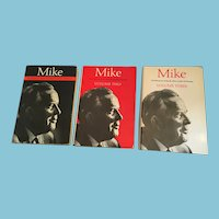 Complete Set of 3 First Edition 'Mike: The Memoirs of the Rt. Hon. Lester B. Pearson'