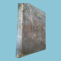 1893 'Royal Photography Gallery' Hardcover Book
